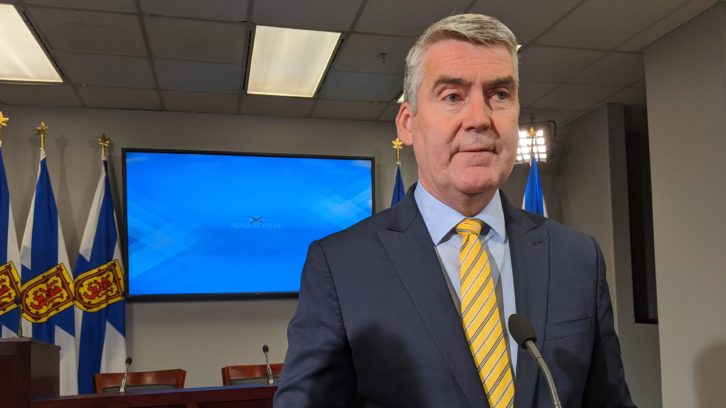 Stephen McNeil at Government Place