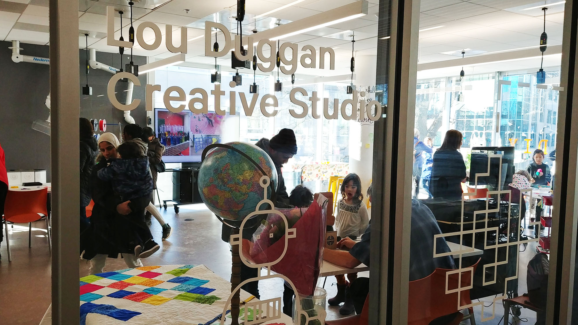 The new and improved Lou Duggan Creative Studio celebrated its grand opening on Saturday.