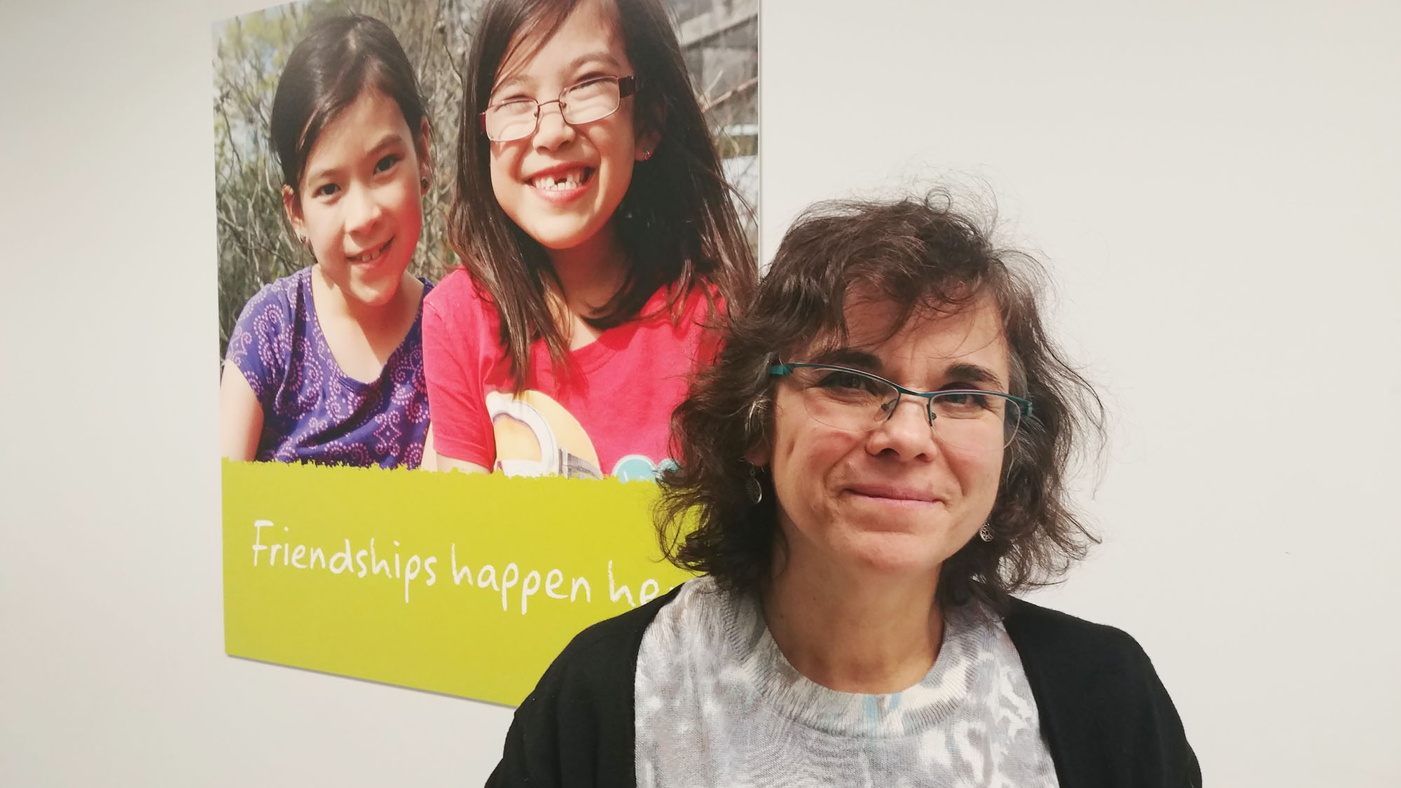 Sylvia Calatayud is with the YMCA's Centre for Immigrant Programs and wants to see the new women's advisory committee make real change from the bottom up.