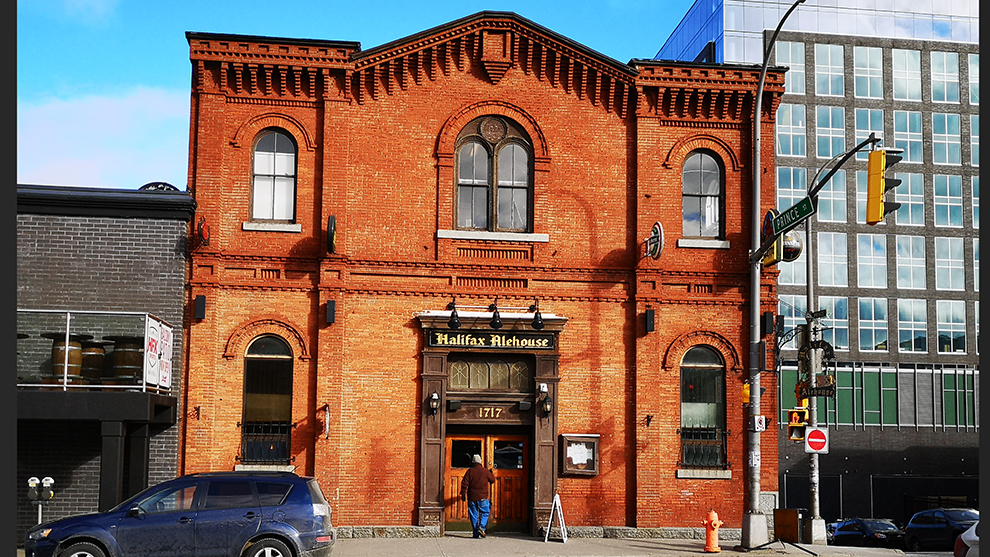 Halifax Alehouse was once a citadel for The Salvation Army.