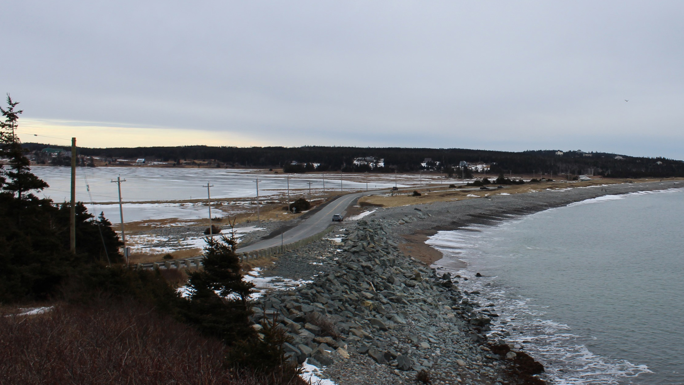 The proposed MusGo Rider route would run along highway 207, which runs alongside popular tourist spot, Lawrencetown beach.
