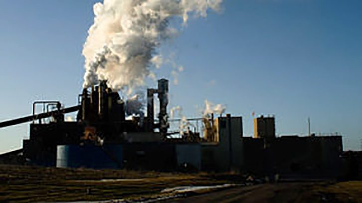 Northern Pulp's paper mill in 2009.