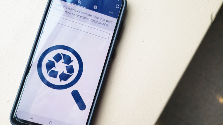 Some HRM residents use the Halifax Recycles app to track their neighbourhood's collection schedules.