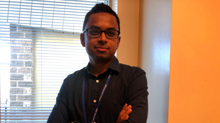 Dr. Souvik Mitra is a neonatologist at the IWK Health Centre.