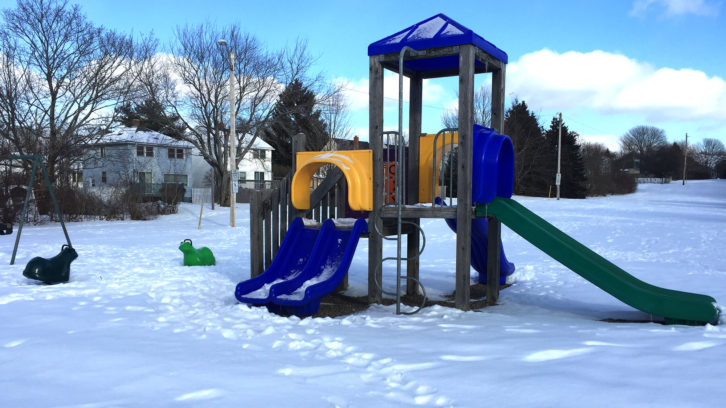 Kenneth Walker Park playground at 3221 Romans Ave. is one of 10 HRM playgrounds that will benefit from new equipment.
