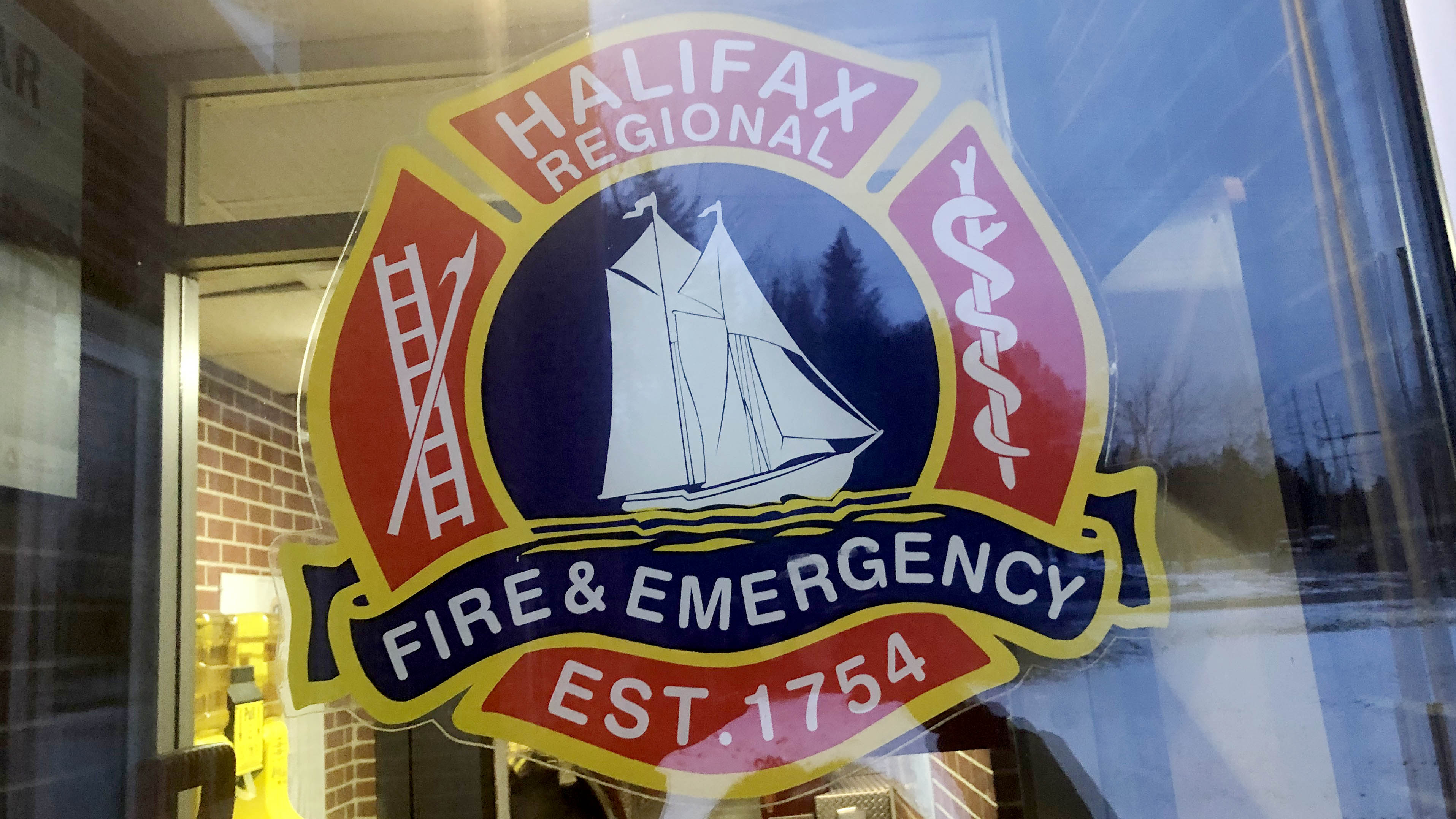 The Halifax Regional Fire and Emergency logo.