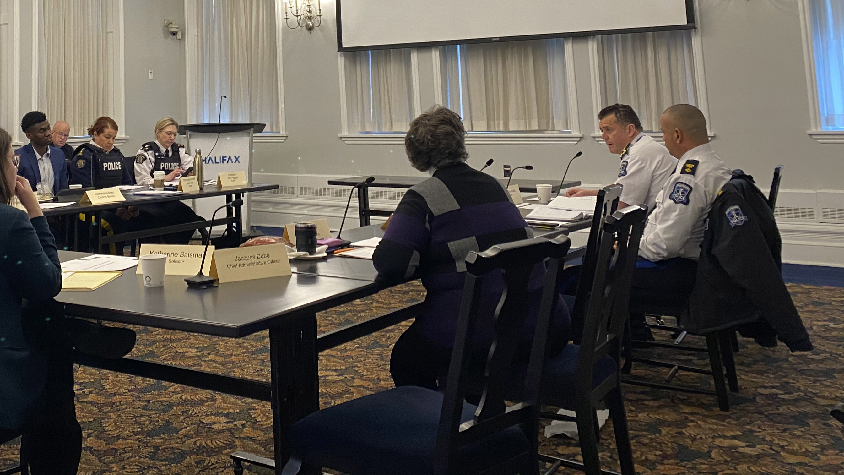 Members of the Halifax Board of Police Commissioners addressed Halifax Regional Police Chief Dan Kinsella about  suggestions the police are taking from the Wortley report.