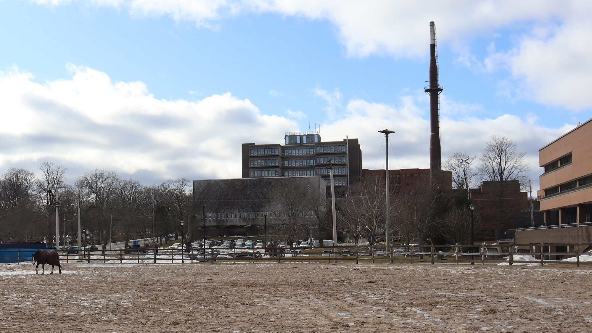 The parkade is currently set for construction beside the Museum of Natural History on Bell Road.