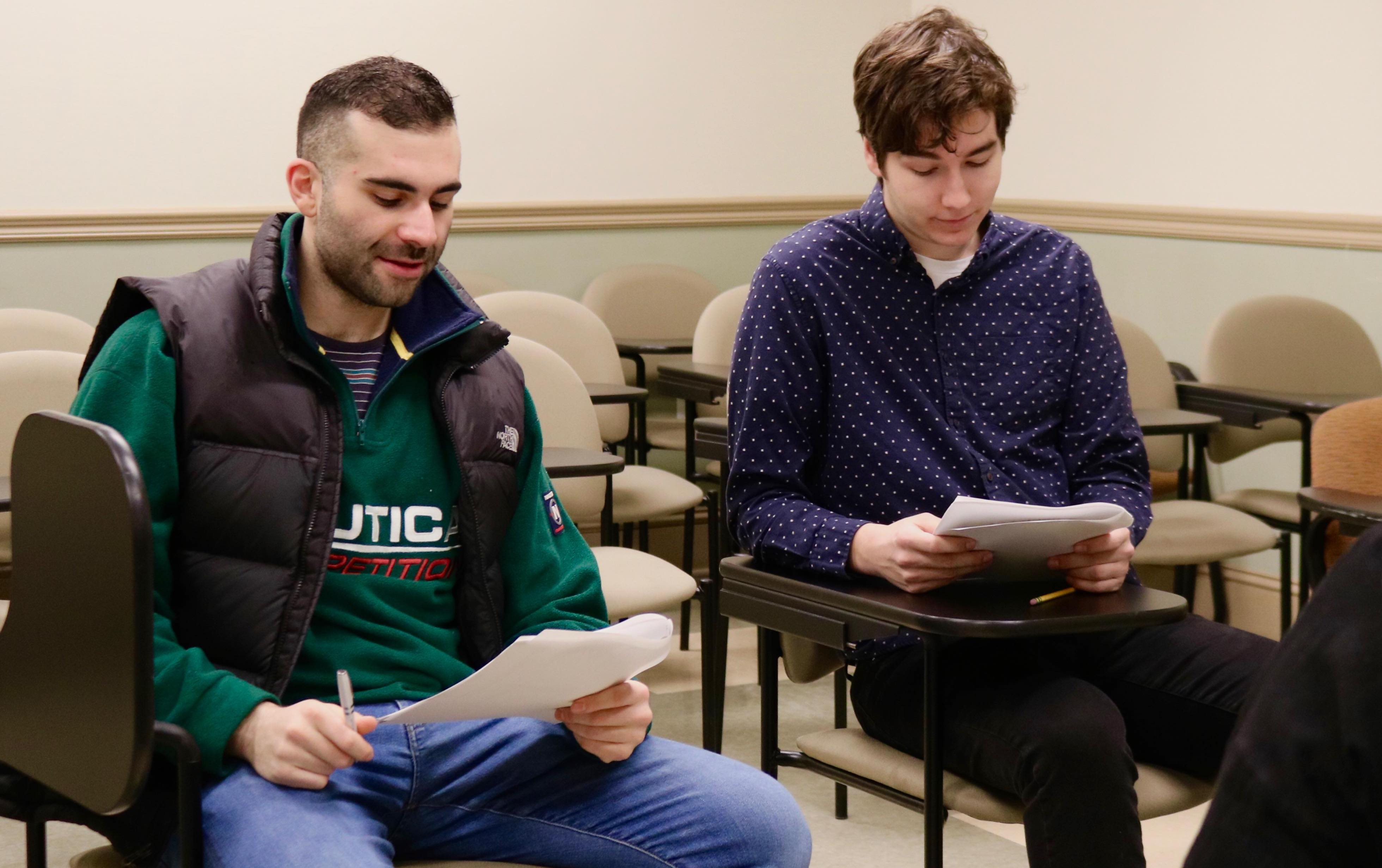 Julian Abraham and Jakob Postlewaite host the Feb. 13 episode of The Signal.