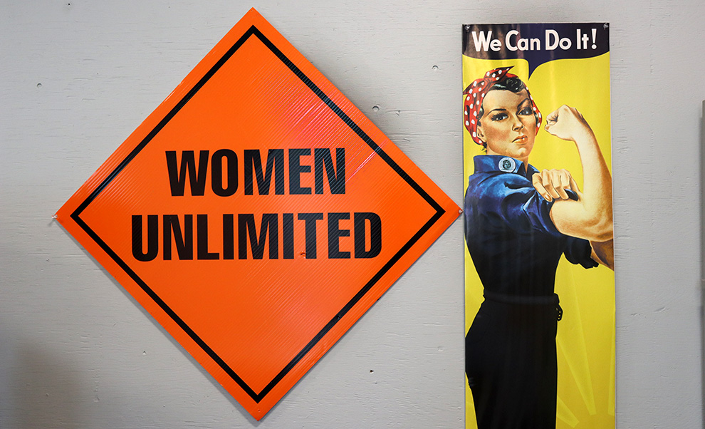 Women Unlimited is a not-for-profit organization in Nova Scotia helping women pursue careers in the trades.