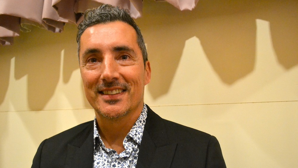 "Kent Monkman was in Halifax on Feb. 27 to give a talk called ""Miss Chief in the Museum."""