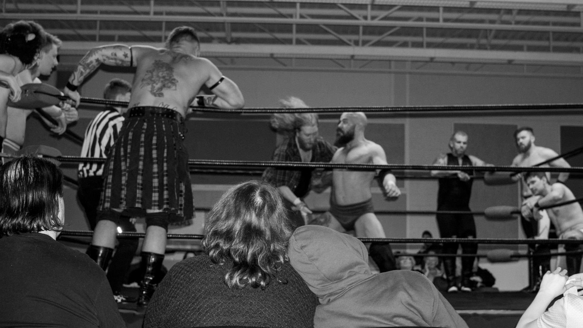Professional wrestlers brought their sport of spectacle to the Sackville Heights Community Centre on Feb. 29.
