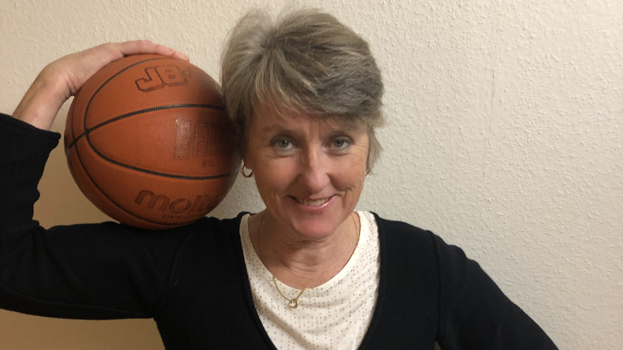 Anna Stammberger has been coaching basketball at Dalhousie for 12 years.