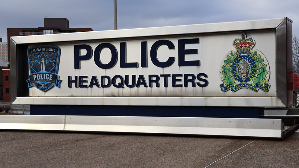 Halifax Regional Police charged a Bedford business Monday with violating the Emergency Measures Act.