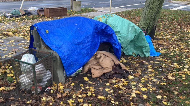 A report says 492 people are experiencing homelessness in HRM.