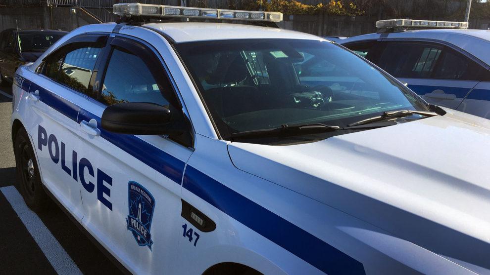 A police cruiser.