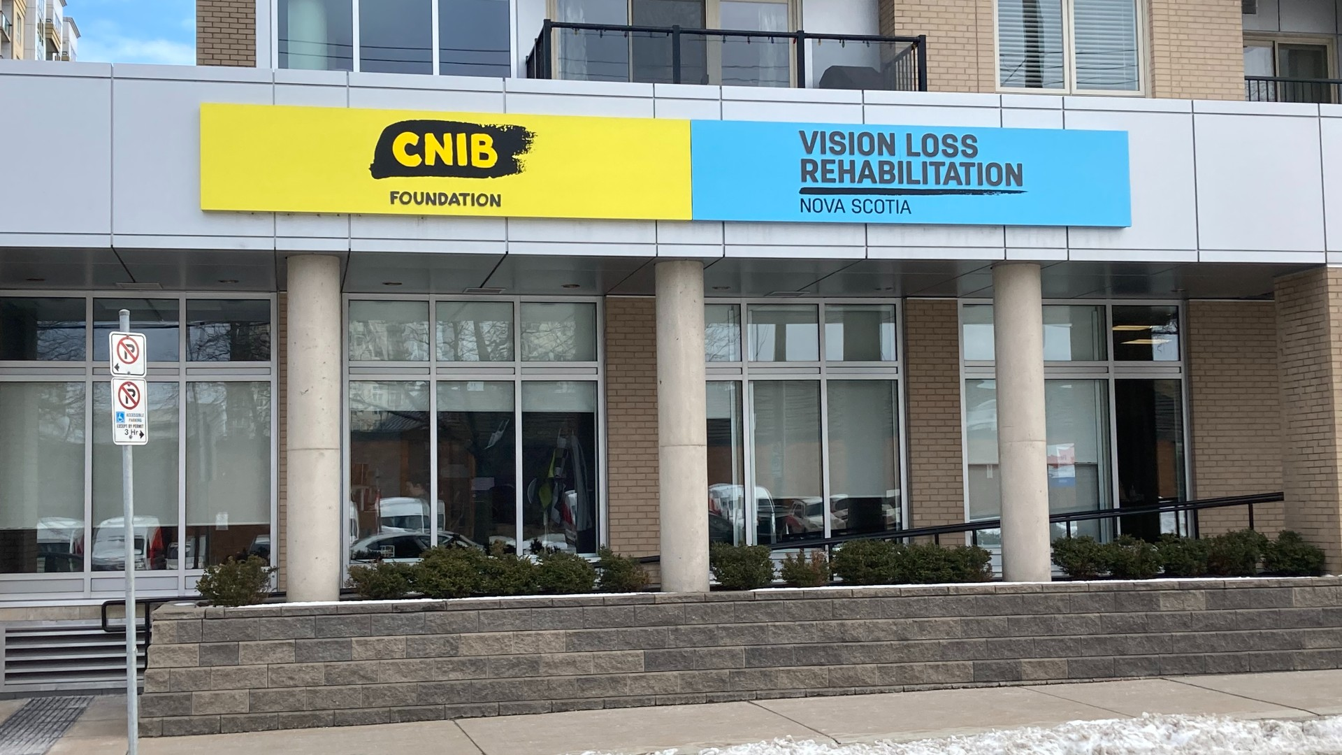 The CNIB Halifax branch is hard to access for many rural-living Nova Scotians in the blind community.
