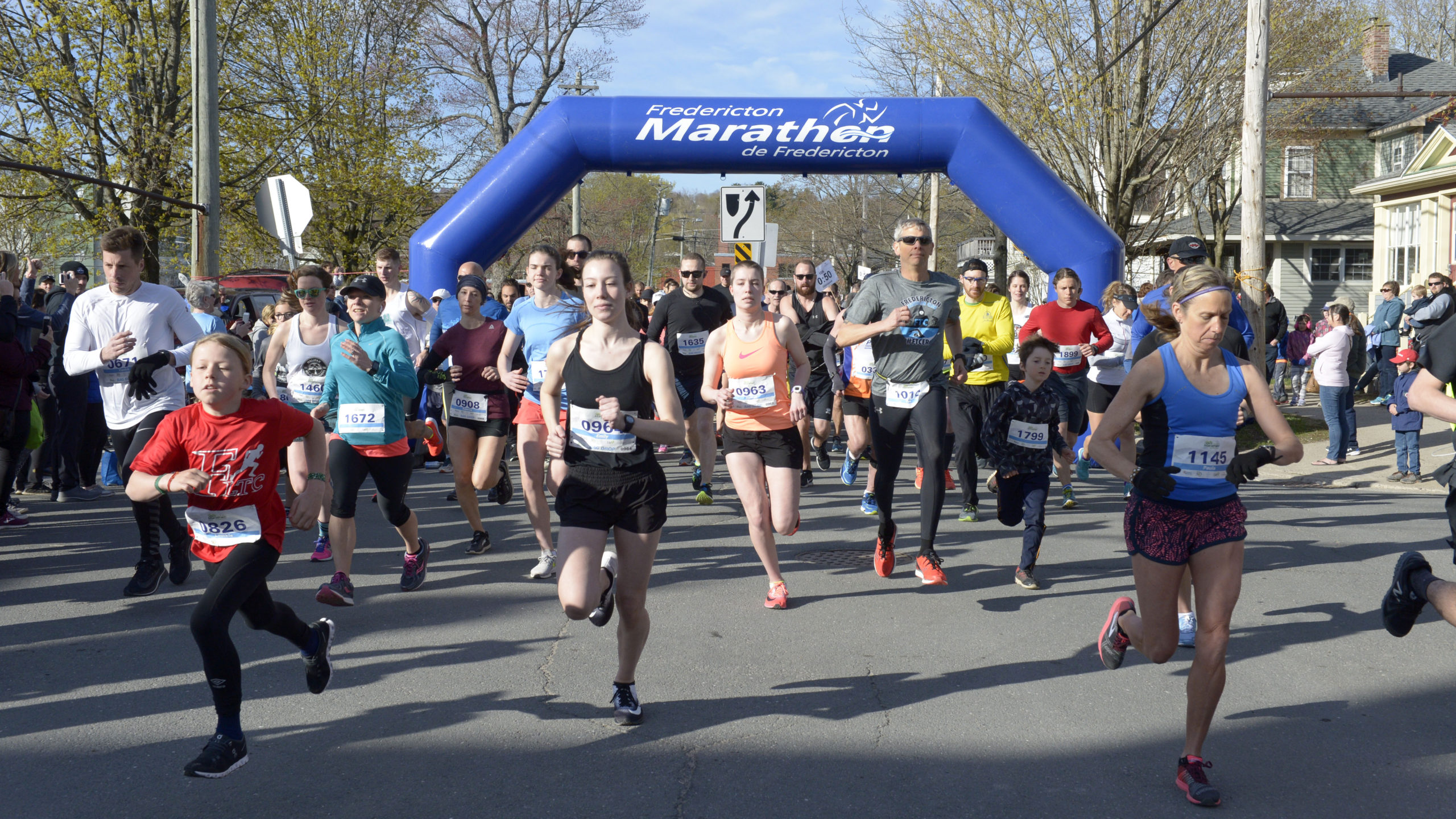 Organizers of the Fredericton Marathon are hoping it will be in-person this year, like it was in 2019.