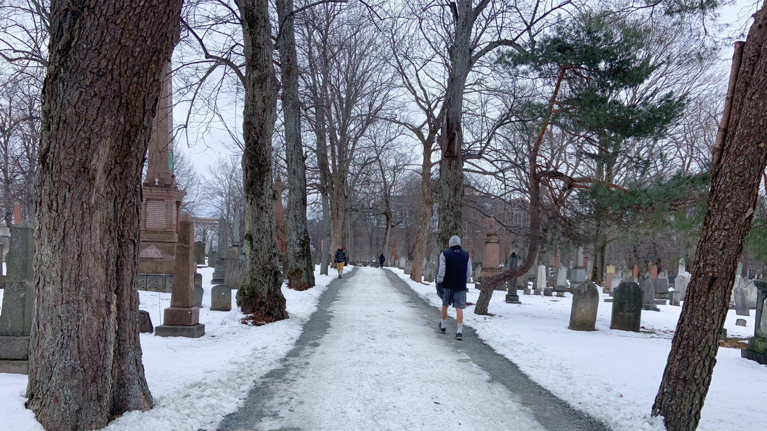 Camp Hill Cemetery in Halifax. The purpose of the panel discussions will be to offer comfort in uncertain times, say organizers.