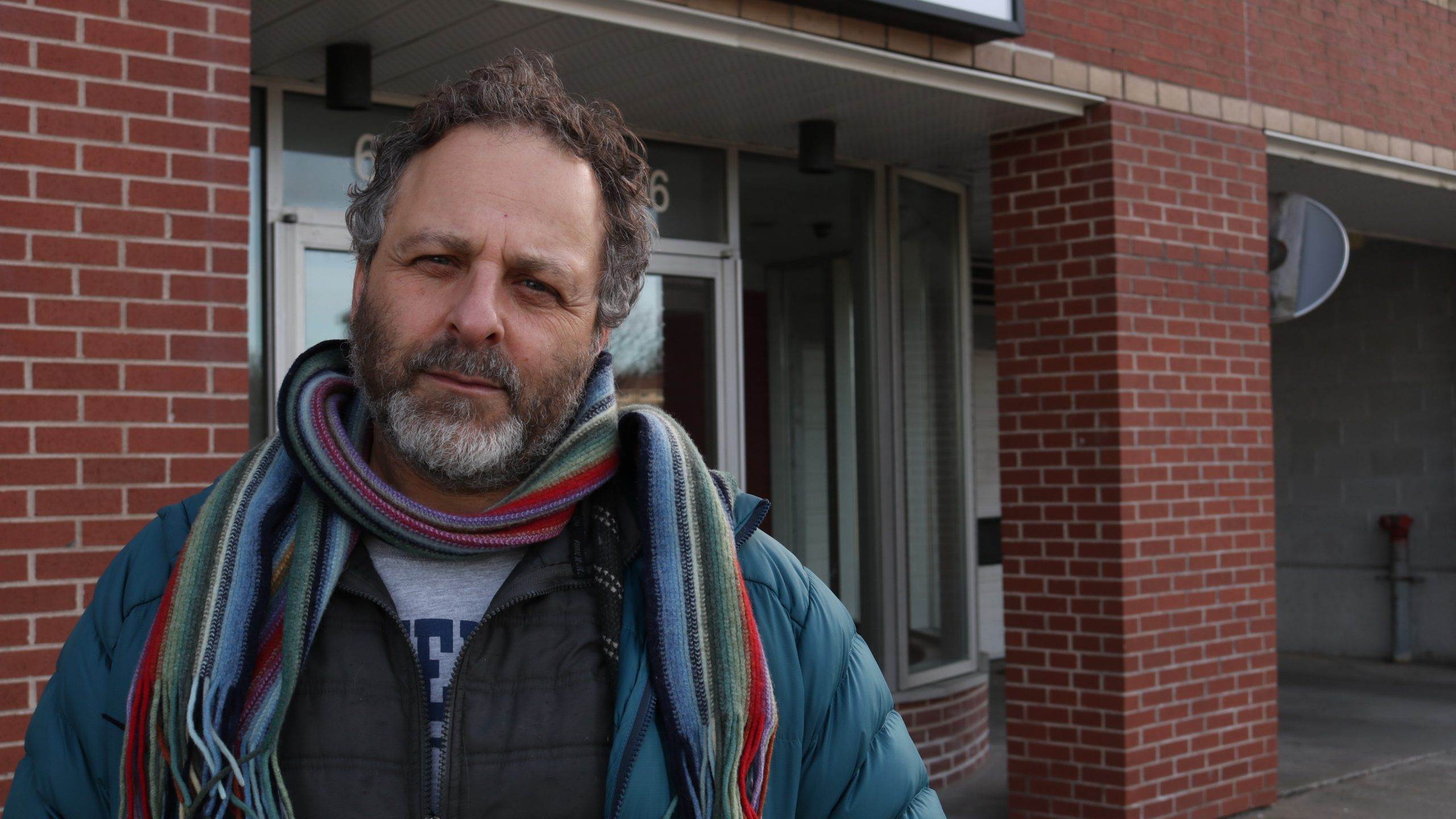 Jeff Karabanow, a professor of social work at Dalhousie University and co-founder of Out of the Cold, Halifax