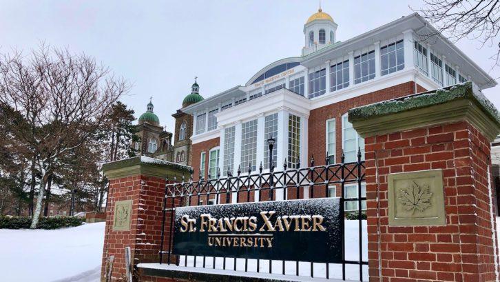 Image of St. FX campus