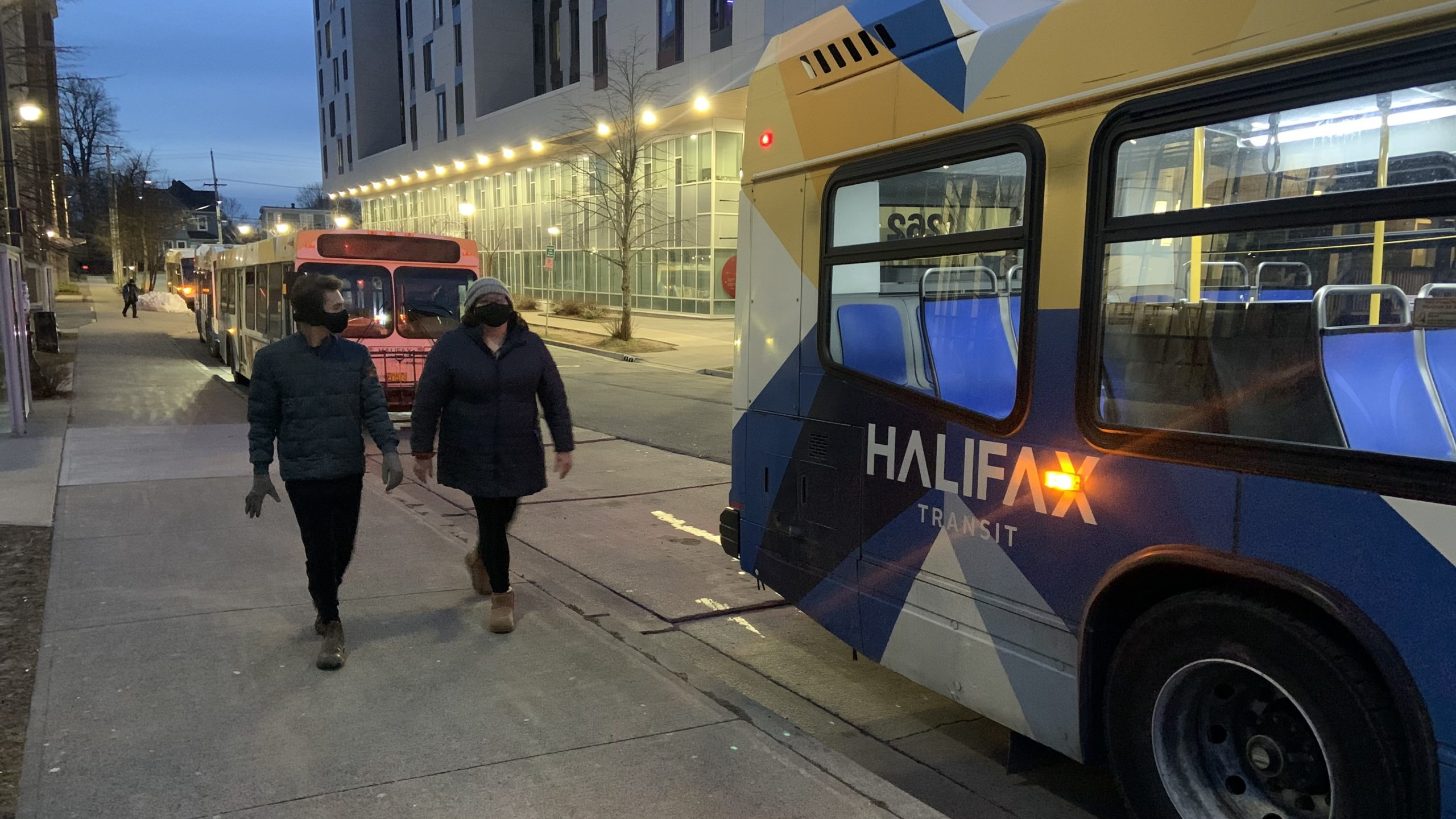 Public transit in Halifax is now free for children 12 and under.