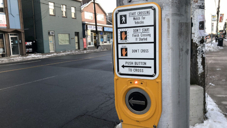 The Transportation Standing Committee is looking at getting rid of pedestrian push buttons.