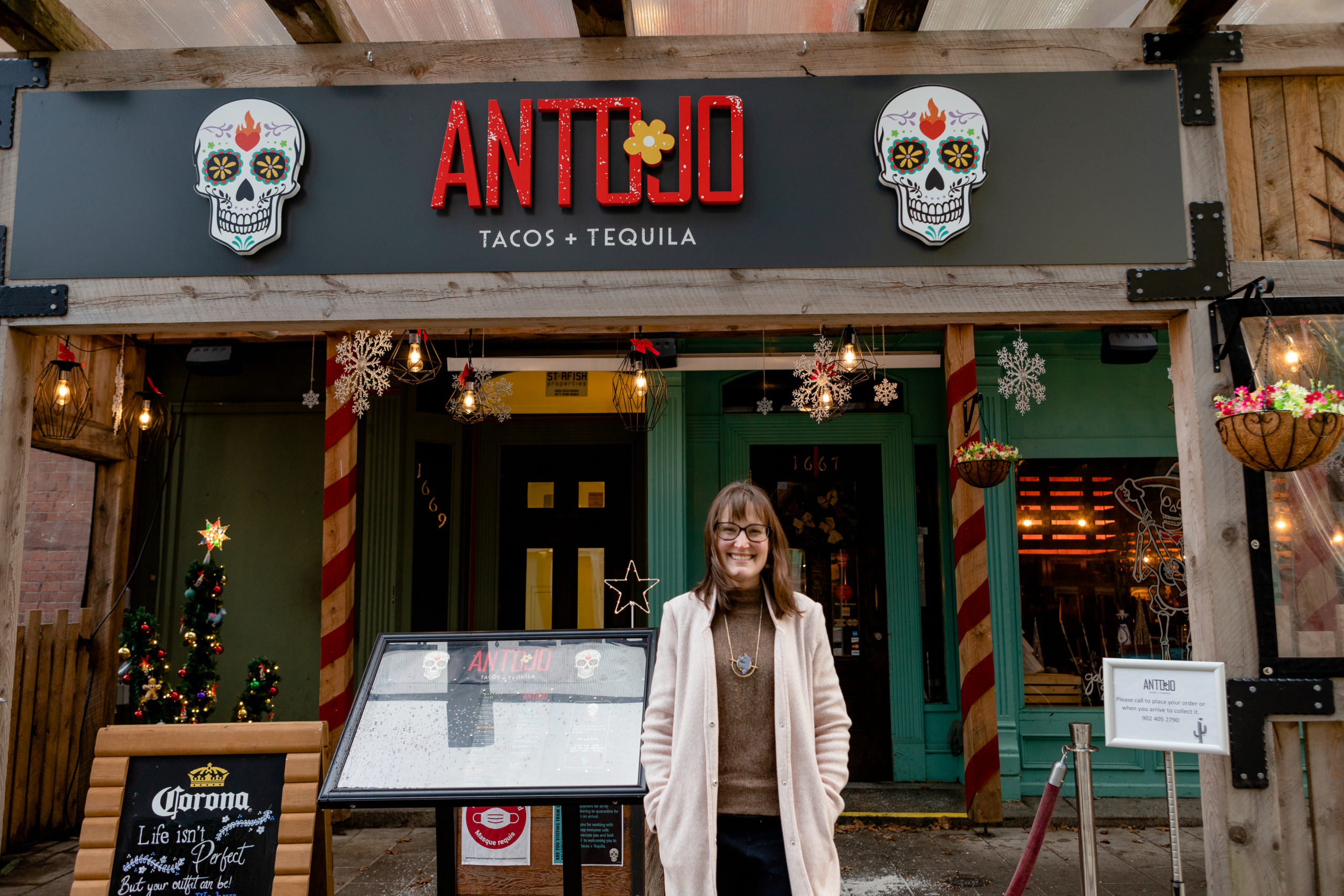 Lia Beveridge has been working to keep her restaurant alive during the pandemic.