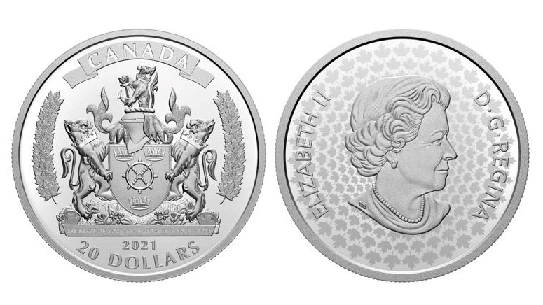 The 2021 African Heritage Month commemorative coin honours the legacy of Black Loyalists