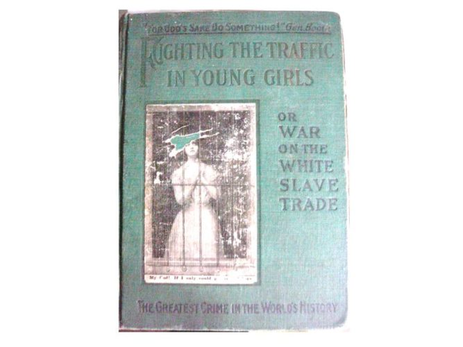 AN image of the front cover of a very old book