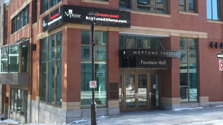 Neptune Theatre in Halifax closed in-person production in March 2020 because of the pandemic.