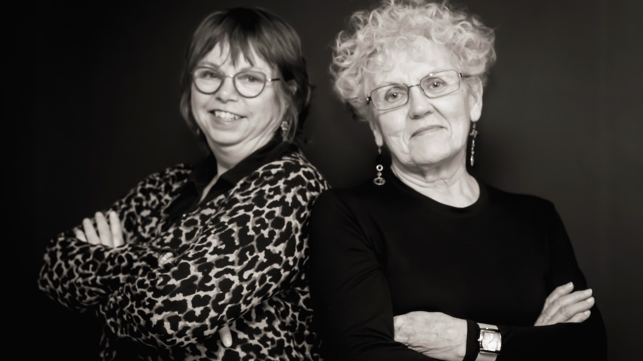 Linda MacDonald (left) and Jeanne Sarson have been fighting human trafficking in Nova Scotia since the 1990s.