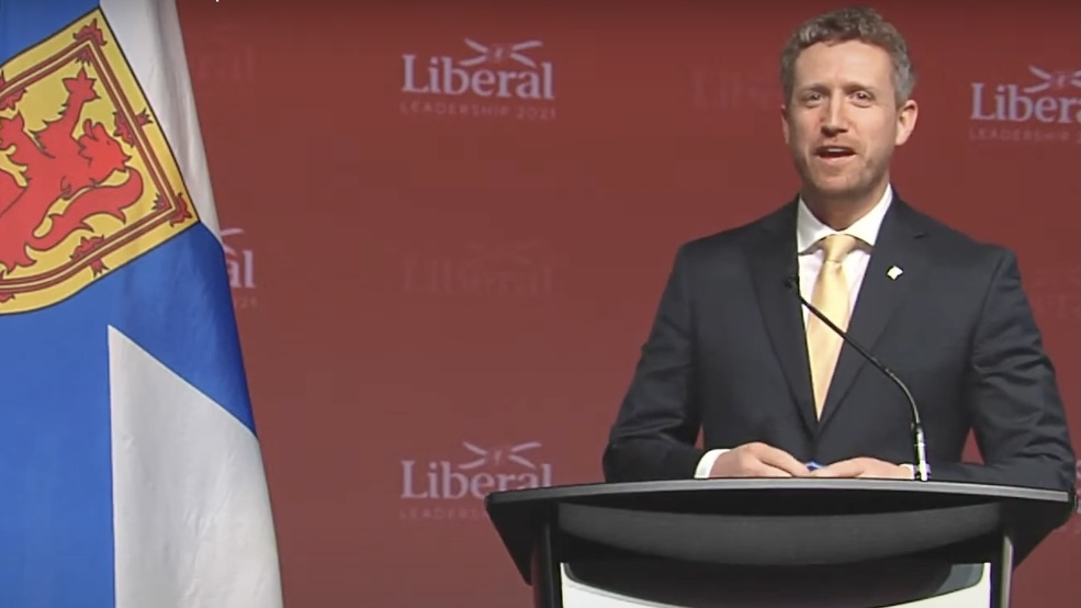 Iain Rankin speaks after becoming the premier-designate on Saturday.